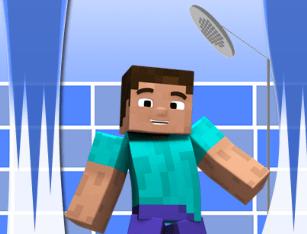 Messy Steve from Minecraft