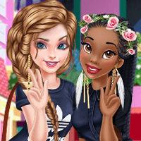 Elsa & Tiana BFF
