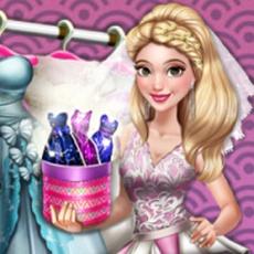 Jogos de vestir | Dove Wedding Dolly