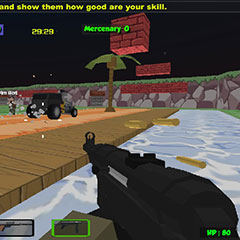 Blocky Combat strike zombie