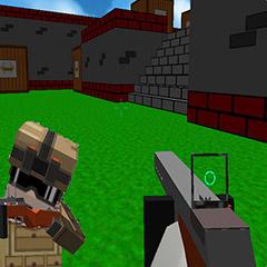 Blocky Gun 3D Warfare