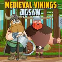 Quebra-cabeça Medieval Vikings
