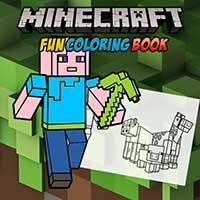 Minecraft Fun Coloring Book